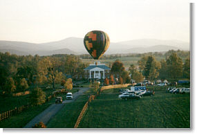 Ballooning in the Shenandoah Valley